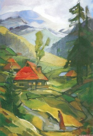 Синевирська Поляна, 2014, п.о., 70х75