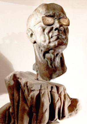 Людина з високо піднятою головою (Портрет художника П. Бедзіра), 1986