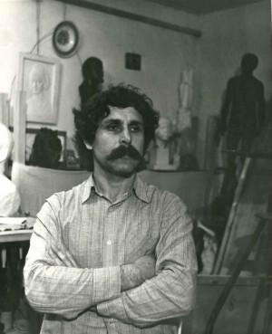 У майстерні, 1981, м Київ.