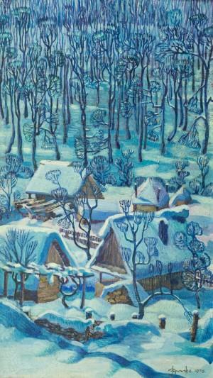 Зима, 1976, п.о., 85х48