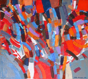 Спалах, 2007, 90х100