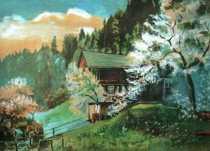Будинок лісника, 1943, 36х50
