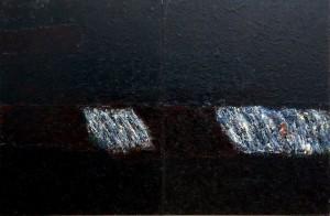 Живопис із серії «Ніч, день, сад», 2007, п.о., 200х300