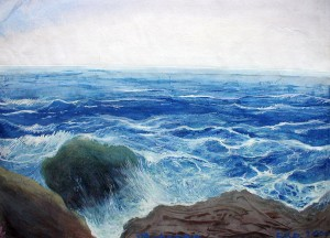 'The Black Sea', 2000, paper, monotype, mixed technique, 60x80.JPG