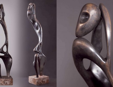 Female figure Bronze 110х28 2011