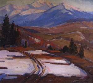 Кінець зими, 1965, п.о. 79х88