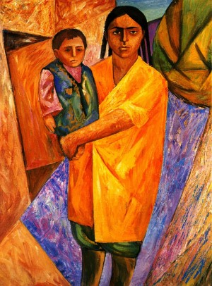Sisters', 1969-1970, oil on canvas, 80x60