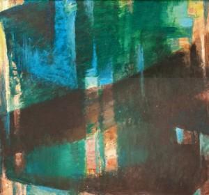 Крізь щілини, 2012, п.а. 86х92