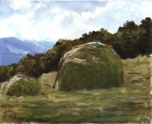 Haymaking Time, 1998, 40x50
