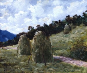 Haymaking Time, 1987, 50x60