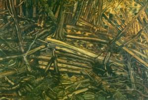 Лісосіка, 1940, кап.на карт.темп. 70х100