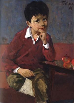 Портрет сина Геннадія, 1966, 65x50