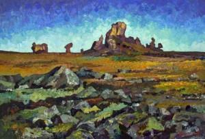 Rocks, Kigilah 3', 1998, 66.7х101