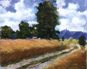 Пшеничне поле, 1961, 40x50