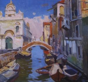 Куточок Венеції, 1964, п.о. 70х65