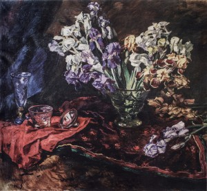Irises, 1939, oil on canvas, 100x115