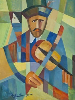 A Violinist'