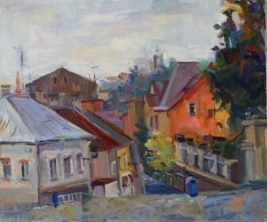 Karyna Minasian. Cityscape. 2016
