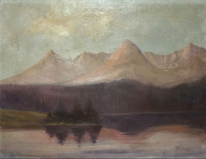 'Mountain Lake', oil on canvas, 60x46.jpg