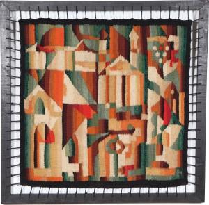 Міський мотив, 1983, 72х73