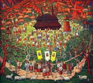 Празник Святого Іллі в селі Буківцево, 1200х1083
