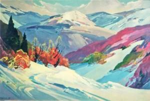 Срібляста зима, 1995, п.о.
