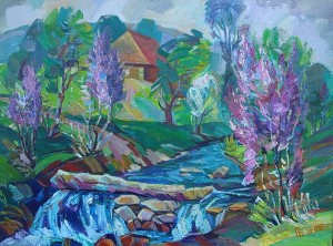Spring, 2005, oil on canvas, 67x70