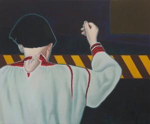 Він (Диптих «Він і Вона»), 2011, п.а., 100х120