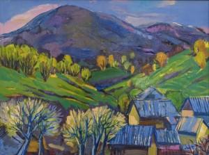 O. Kondratiuk  Spring Carpathians