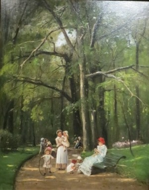 Прогулянка в парку Монсо. 1882 р