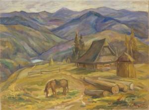 Над Синевиром, 2007, п.о., 60х80