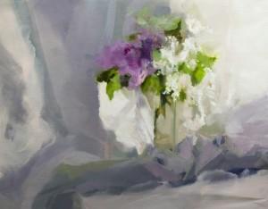 Весняна поезія 2017п.о.50х65