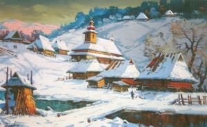 Стара Верховина, 2004, 80х120