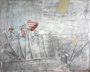 Із серії робіт .Жабки. п.о. 120-150