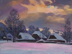 V. Vovchok Winter Sun'