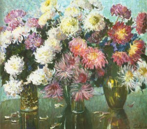 Різнобарв'я квітів, 1982, 60x70