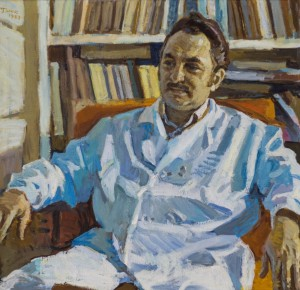 Portrait of The Doctor V. Bora, 1983