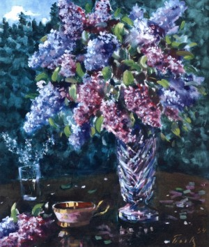Різноцвіття бузку, 1994, 70x60