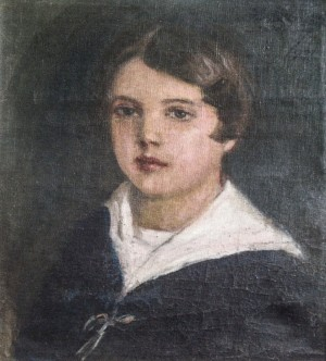 Kate, 1931, oil on canvas, 40x35