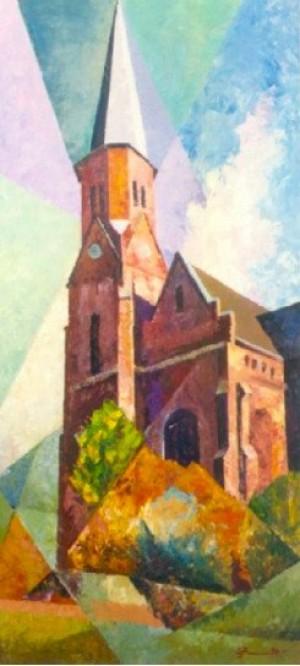 'Собор Петра і Павла', 1997, 62х121.5