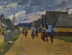 Похмурий день, 1957