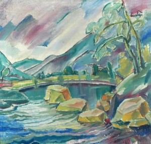 Mountain torrent. Early, 1930