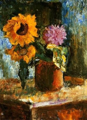Sunflower', 1962, oil on canvas, 80x60