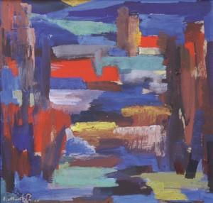 Імпровізація пейзажу, 2007, орг.т. 45х48
