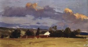 Літо, кін. 1950-х, к.о. 19,5х33,5