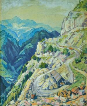 Мармуровий кар'єр, 1965, п.о. 115х100