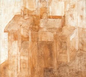 Table, 2002, oil, acrylic on canvas, 90x100
