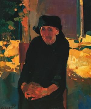 Баба Терезка, 1996, 85,5х71