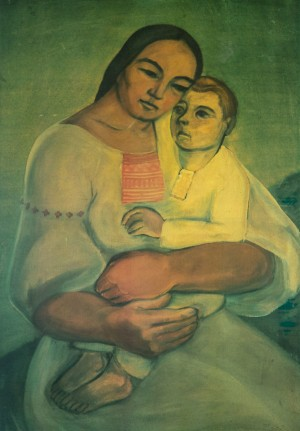 Mother and child, 1941
