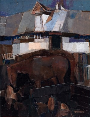 Twilight, 2008, oil on canvas, 63x50